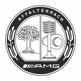 AMG Dekielki do felg grawerowane kpl.