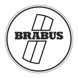 BRABUS  Dekielki do felg Premium kpl.
