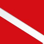Czerwony/Biały