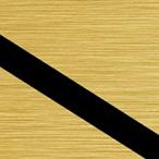 Szczotkowany Złoty/Czarny