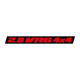 2.8 VR6 4×4 Emblemat tylny