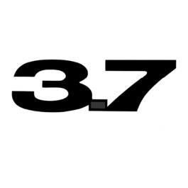 3.7 Mustang Emblematy boczne 2 szt.