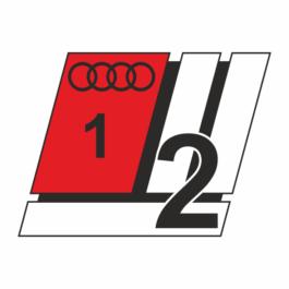 AUDI Emblemat przedni