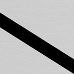 Gładki Srebrny/Czarny