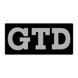 GTD Emblemat przedni