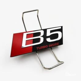 B5 TURBO Emblemat przedni