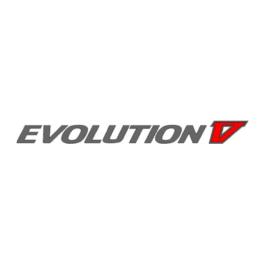EVOLUTION V Emblemat tylny