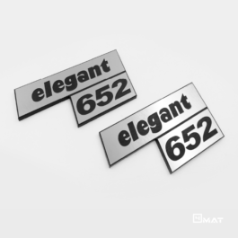 ELEGANT 652 Emblemat tylny