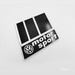 VW MOTOR SPORT Emblemat przedni
