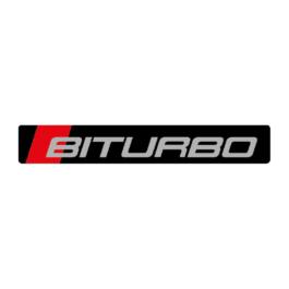 BITURBO Emblemat przedni