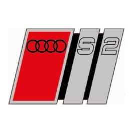 AUDI S2 Emblemat przedni