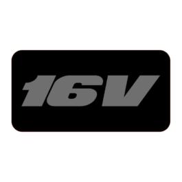 16V Emblematy boczne 2 szt.