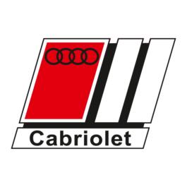 AUDI Cabriolet Emblemat przedni