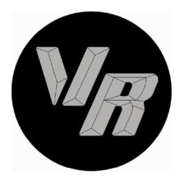 VR Dekielki do felg grawerowane kpl.