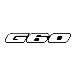 G60 Emblemat przedni