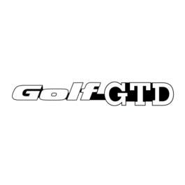 GOLF GTD Emblemat tylny