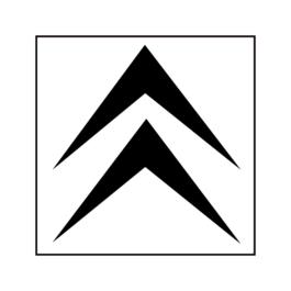 CITROËN Emblemat przedni
