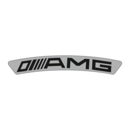 AMG Emblematy na felgi 4 szt.