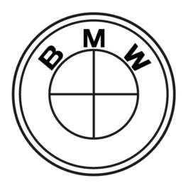 BMW Dekielki do felg grawerowane, kpl.