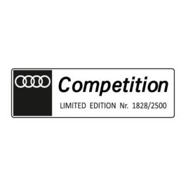 AUDI Competition Emblemat wewnętrzny